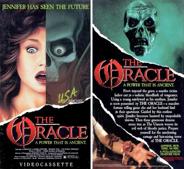 John's Horror Corner: The Oracle (1985), the boring Ouija