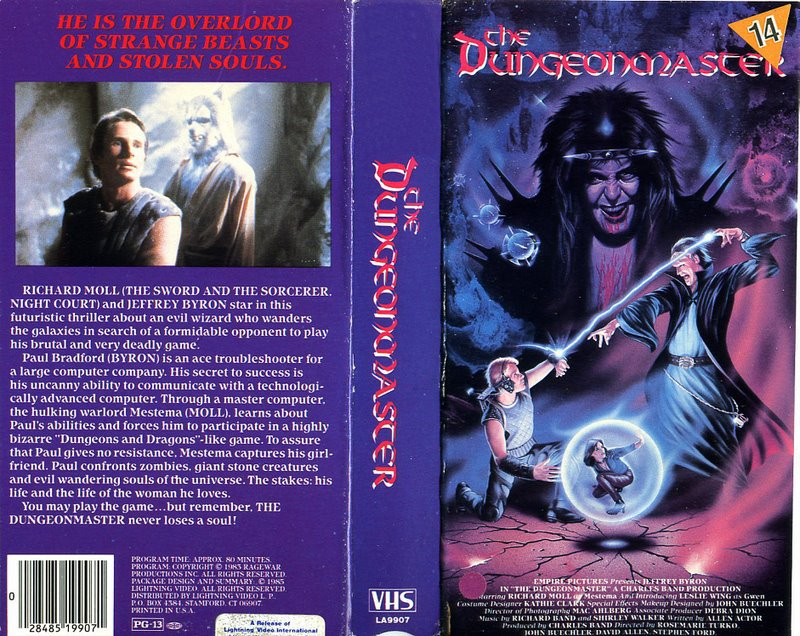 Bad Movie Tuesday: The Dungeonmaster (1984
