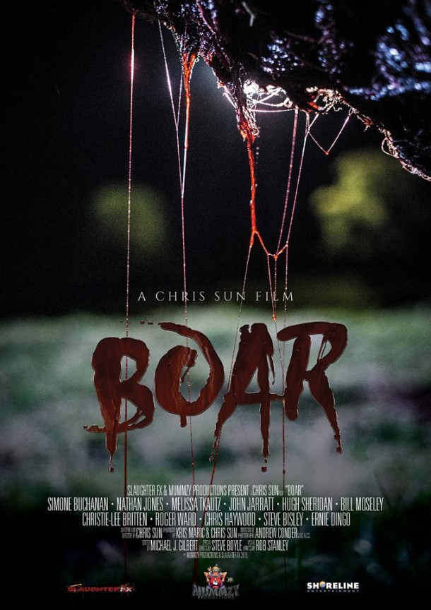 John's Horror Corner: Boar (2017), Nathan Jones goes mano-a-mano with a  giant killer boar in what is definitely NOT a remake of the Australian  classic Razorback (1984). | Movies, Films & Flix