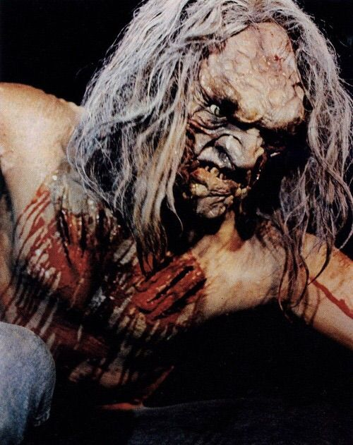 John's Horror Corner: Scalps (1983), a Native American burial ground  B-movie about a cave man shaman… or something.   Movies, Films & Flix